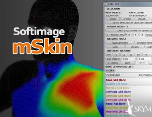 mSkin Softimage ウェイトツールを公開